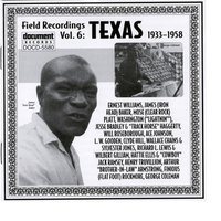 Field Recordings Vol. 6: Texas (1933-1958) — Various Artists - Document Records