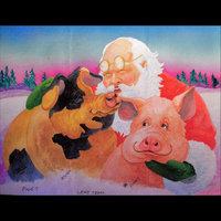 It's a Merry Christmas When Pigs Fly-the Audio Book — Patsy Trigg