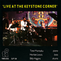 Live At the Keystone Corner — Tete Montoliu