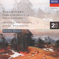 Tchaikovsky: Piano Concerto Nos. 1-3/Violin Concerto — Sir Neville Marriner, Wiener Symphoniker, Charles Dutoit, Kyung Wha Chung, Orchestre Symphonique De Montreal, Gennadi Rozhdestvensky
