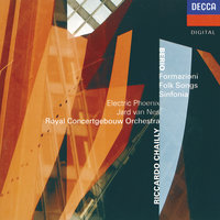 Berio: Formazioni; Folk Songs; Sinfonia — Royal Concertgebouw Orchestra, Riccardo Chailly, Jard van Nes, Electric Phoenix