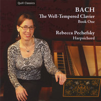Bach: The Well-Tempered Clavier, Book One — Rebecca Pechefsky