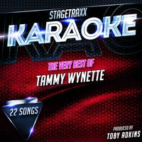 Stagetraxx Karaoke: The Very Best of Tammy Wynette — Toby Adkins