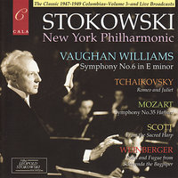 Vaughan Williams: Symphony No.6 - Mozart: Symphony No.35 - Tchaikovsky, Scott and Weinberger — Leopold Stokowski, New York Philharmonic, Пётр Ильич Чайковский, Вольфганг Амадей Моцарт