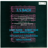 Bach, J.S.: Cantatas Nos. 159 & 170 — Sir Neville Marriner, Academy of St. Martin in the Fields, Dame Janet Baker, Orchestre Symphonique De Montreal, John Shirley-Quirk