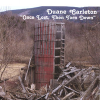 Once Lost, Then Torn Down — Duane Carleton