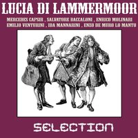 Lucia di lammermoor - selection — Гаэтано Доницетти, Enrico Molinari, Emilio Venturini, Salvatore Baccaloni, Mercedes Capsir, Ida Mannarini, Enzo De Muro Lomanto, Orchestra del Teatro alla Scala, Coro Del Teatro Alla Scala, Lorenzo Molajoli, dir. coro Vittore Veneziani