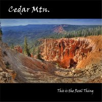 This Is the Real Thing — Cedar Mtn.