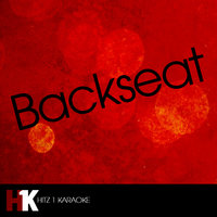 Backseat (feat. The Cataracs & Dev) — Backseat