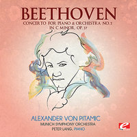 Beethoven: Concerto for Piano & Orchestra No. 3 in C Minor, Op. 37 — Людвиг ван Бетховен, Peter Lang, Alexander von Pitamic, Munich Symphony Orchestra