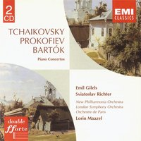 Bartók/Prokofiev/ Tchaikovsky Piano Concertos — Пётр Ильич Чайковский, Сергей Сергеевич Прокофьев, Святослав Рихтер, Бела Барток, London Symphony Orchestra (LSO), New Philharmonia Orchestra, Orchestre De Paris, Sviatoslav Richter/Emil Gilels/New Philharmonia Orchestra/Lorin Maazel/London Symphony Orchestra/Orchestre de Paris
