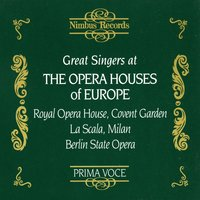 Great Singers at the Opera Houses of Europe — London Symphony Orchestra (LSO), Wiener Philharmoniker, Enrico Caruso, Staatskapelle Berlin, Metropolitan Opera Orchestra, Albert Coates