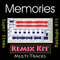 Memories (Multi Tracks Tribute to David Guetta feat Kid Cudi ) — REMIX Kit