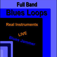 Full Band Blues Loops (Real Instruments) — Blues Jammer
