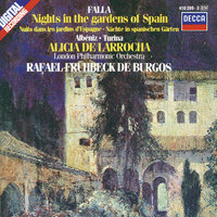 De Falla / Albéniz / Turina: Nights in the Gardens of Spain / Rapsodia Española etc. — London Philharmonic Orchestra, Rafael Frühbeck de Burgos, Alicia de Larrocha