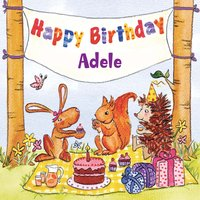 Happy Birthday Adele — The Birthday Bunch