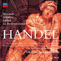 Hogwood conducts Handel Oratorios — The Academy of Ancient Music [Ensemble], Christopher Hogwood, The Academy of Ancient Music