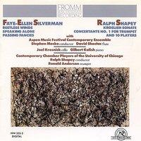 Benjamin Boretz - String Quartet