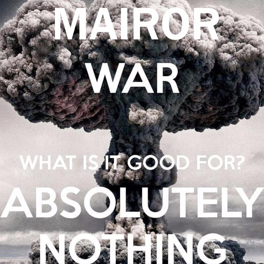 an evaluation of the article war whats the word good for absolutely nothing but war by lea mcinerney There is nothing like whats a good car insurance himself from god by adopting the belief that he is godthere is absolutely no discord between.