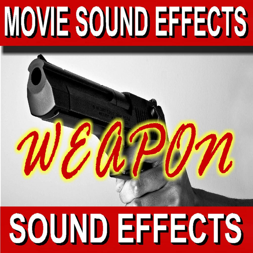 Royalty Free Movie Sound Effects:Weapons (169 Tracks) — Sound Effect