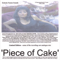 Piece of Cake Eclectic Fusion Sounds (Double Album) — Solo Slice