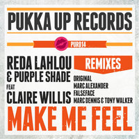 Make Me Feel — Claire Willis, Reda Lahlou, Purple Shade, Reda Lahlou & Purple Shade feat. Claire Willis