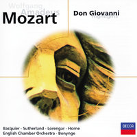 Mozart: Don Giovanni - highlights — Richard Bonynge, English Chamber Orchestra, Gabriel Bacquier, Dame Joan Sutherland, Marilyn Horne, Pilar Lorengar