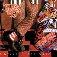 Green Suede Shoes — Black 47