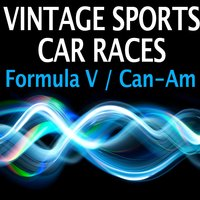 Vintage Sports Car Races - Formula V and Can-Am — Pro Sound Effects Library