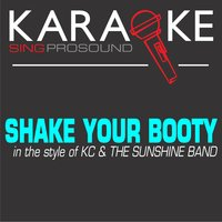 Shake Your Booty (In the Style of Kc & The Sunshine Band) — Karaoke