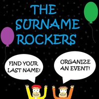 Find Your Last Name! Organize an Event! — The Surname Rockers