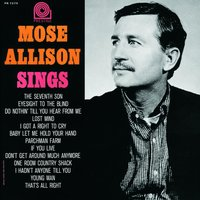 Mose Sings — Mose Allison