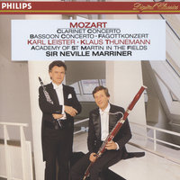 Mozart: Clarinet & Bassoon Concertos — Sir Neville Marriner, Academy of St. Martin in the Fields, Karl Leister, Orchestre Symphonique De Montreal, Klaus Thunemann, Stephen Orton