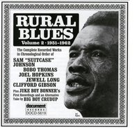 Rural Blues Vol. 2 (1951-1962) — Various Artists - Document Records