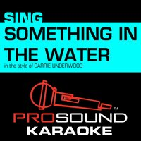 Something in the Water (In the Style of Carrie Underwood) — Karaoke