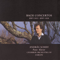 Bach, J.S.: Concerti BWV 1052-58 — András Schiff, Chamber Orchestra Of Europe, Marieke Blankestijn