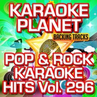 Pop & Rock Karaoke Hits, Vol. 296 — A-Type Player