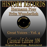 History Records - Classical Edition 109 - Great Voices - Hermann Prey & Fritz Wunderlich — Hermann Prey, Fritz Wunderlich, Вольфганг Амадей Моцарт