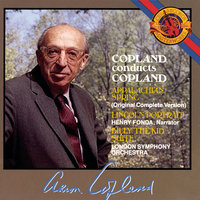 Copland: Appalachan Spring, Lincoln Portrait, Billy the Kid — Henry Fonda, London Symphony Orchestra, Aaron Copland
