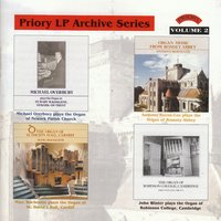 LP Archive Series - 2 Organ Music from Robinson College, Cambridge / Romsey Abbey / Newark Parish Church / St. David's Hall, Cardiff — сборник