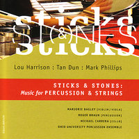 Sticks and Stones: Music for Percussion & Strings — Roger Braun