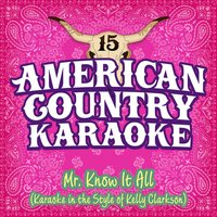 Mr. Know It All — American Country Karaoke