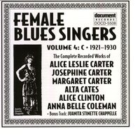 Female Blues Singers Vol. 4 C (1921-1930) — Various Artists - Document Records