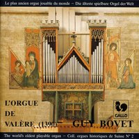 Guy Bovet à l'orgue de la Basilique de Valère (1390), The world's oldest playable organ — Guy Bovet