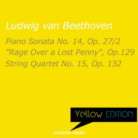 "Yellow Edition - Beethoven: Piano Sonata No. 14 ""Moonlight Sonata"" & String Quartet No. 15, Op. 132 — Josef Bulva, Alfred Brendel, Melos Quartet Stuttgart, Людвиг ван Бетховен"