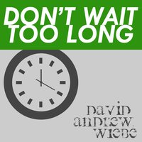 Don't Wait Too Long — David Andrew Wiebe