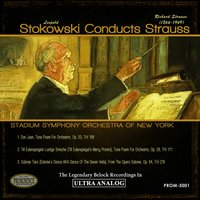 Stokowski Conducts Strauss — Рихард Штраус, Leopold Stokowski, Stadium Symphony Orchestra Of New York