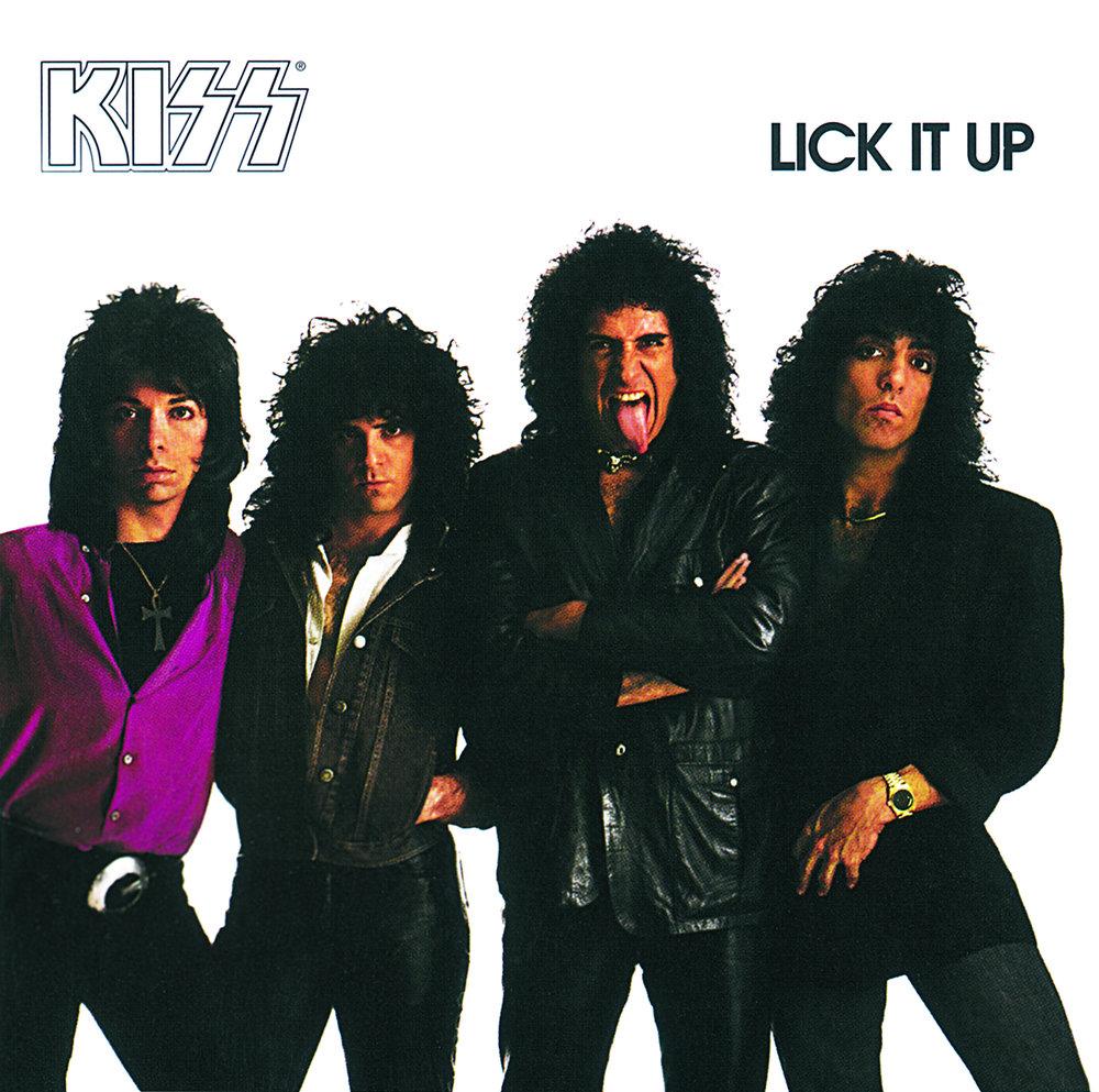Kiss lick it up music 14