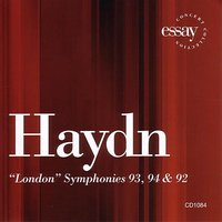 "Haydn: ""London"" Symphonies 93, 94 & 92 — Richard Kapp, Philharmonia Virtuosi, Йозеф Гайдн"