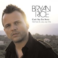Can't Say I'm Sorry — Bryan Rice